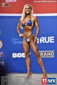 Sara Back - Bikini - 2016 IFBB Nordic Pro