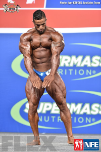 Abdelaziz Jellali - Open Bodybuilding - 2016 IFBB Nordic Pro