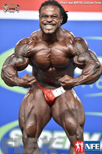 William Bonac - Open Bodybuilding - 2016 IFBB Nordic Pro