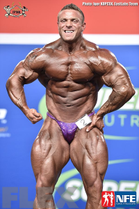 Brad Rowe - Open Bodybuilding - 2016 IFBB Nordic Pro