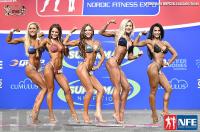 Final Comparisons & Awards - Bikini - 2016 IFBB Nordic Pro