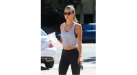 Alessandra Ambrosio in Gym Clothes