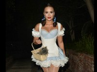 Check Out Demi Lovato's Sexy Take on Her Dorothy Costume