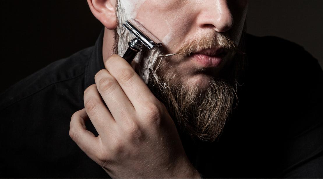 man-shaving-beard