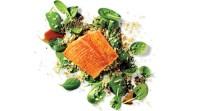 samon-salad-food