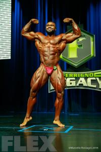 Gerald Williams - Open Bodybuilding - 2016 IFBB Ferrigno Legacy Pro