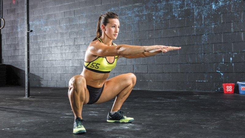 CrossFit  Air squat کراس فیت ایر اسکات