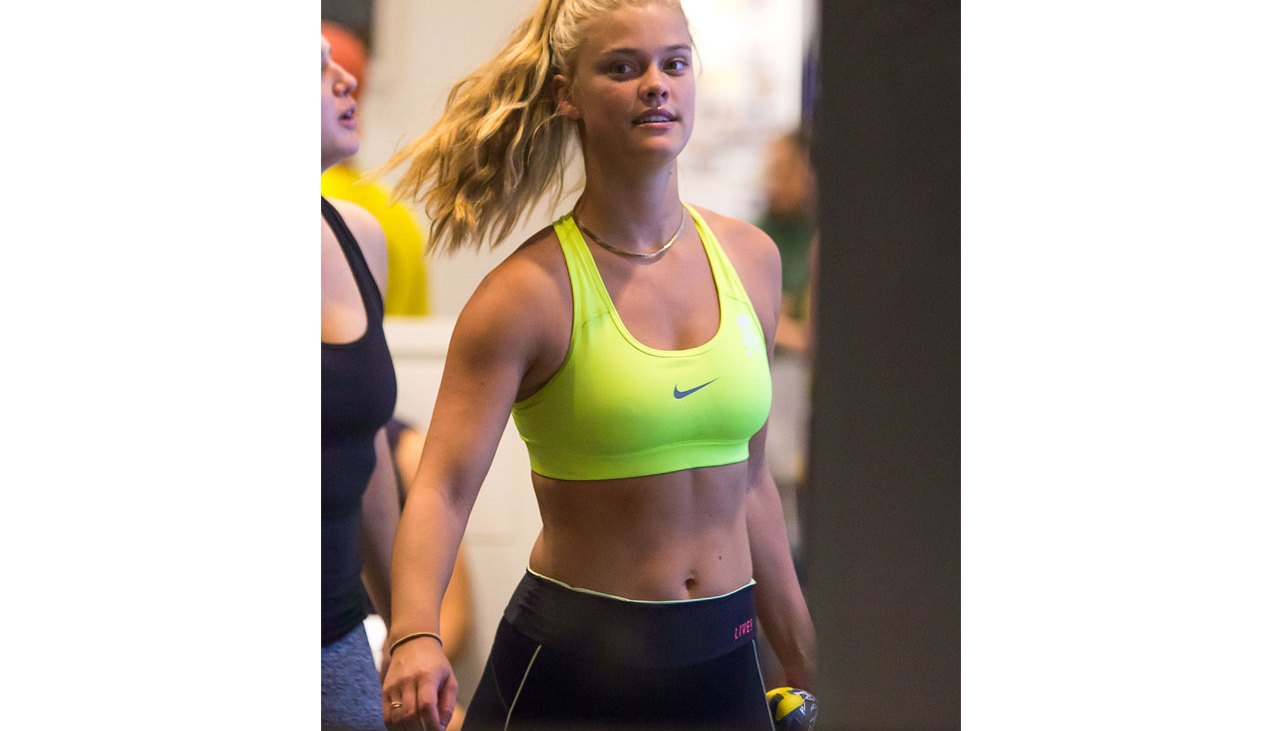 Nina Agdal Gets Her Fitness On at SoulCycle Gym