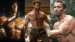 Celebrities Sylvester Stallone Hugh Jackman Arnold Schwarzenegger