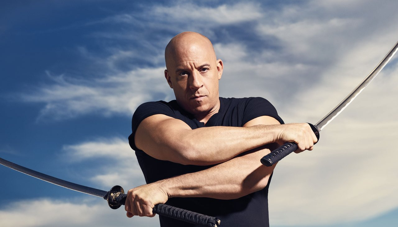 The workout to build shoulders like Vin Diesel