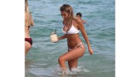 Model Chantel Jeffries Flaunts Curves in Tiny Bikini