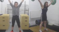 Champione Teenage Weightlifting  Sisters Have Broken Nearly 300 Records
