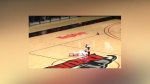 Basketball Player Loses Shoe and Just. Can't. Get. Up.