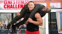 WWE Superstar John Cena Squats Al Roker