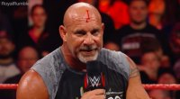 Why Goldberg Was Bleeding for Real on Monday Night Raw