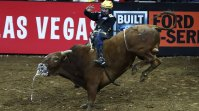 Pro Bull Rider Jess Lockwood Shows Off His Strength with PBR Tour Win