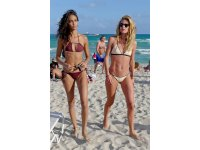 Romee Strijd, Jasmine Tookes, and Lais Ribeiro heat up the beaches of Brazil