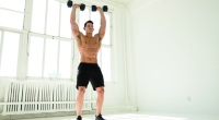 How to Do Dumbbell Cleans