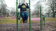 Man In Wheelchair Busts Out 15 Pullups