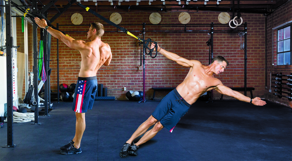 Work Your Entire Upper Body with These TRX Moves