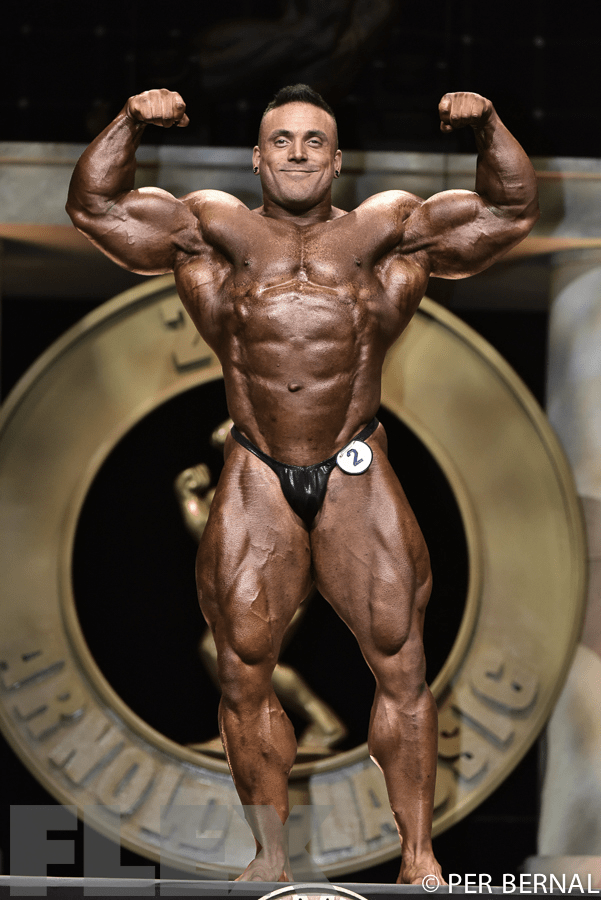 Luke Sandoe - Open Bodybuilding - 2017 Arnold Classic