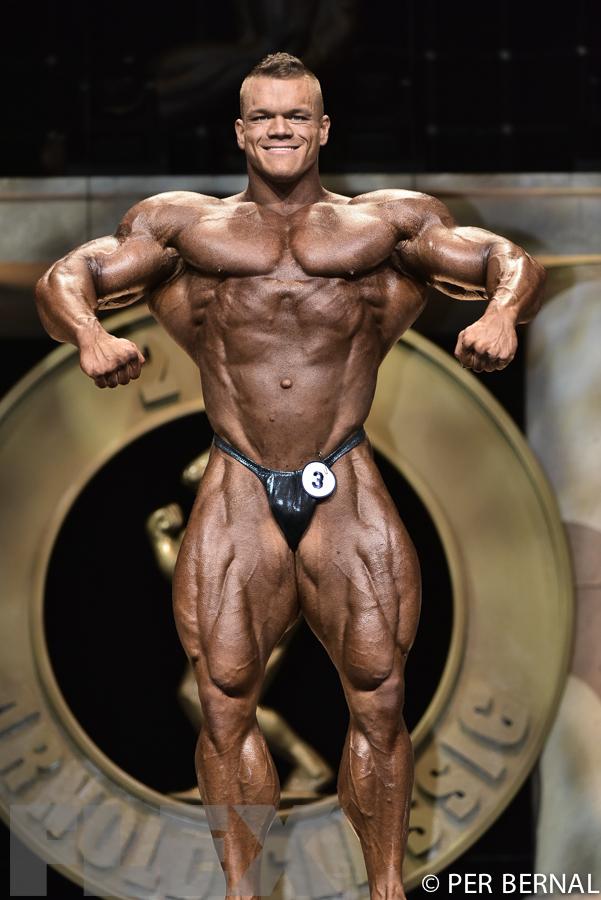 Dallas McCarver - Open Bodybuilding - 2017 Arnold Classic