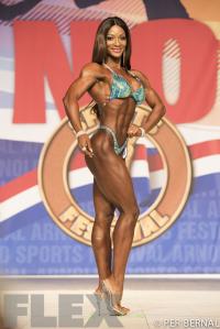 Candice Lewis-Carter - Figure - 2017 Arnold Classic