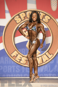 Brittany Campbell - Figure - 2017 Arnold Classic