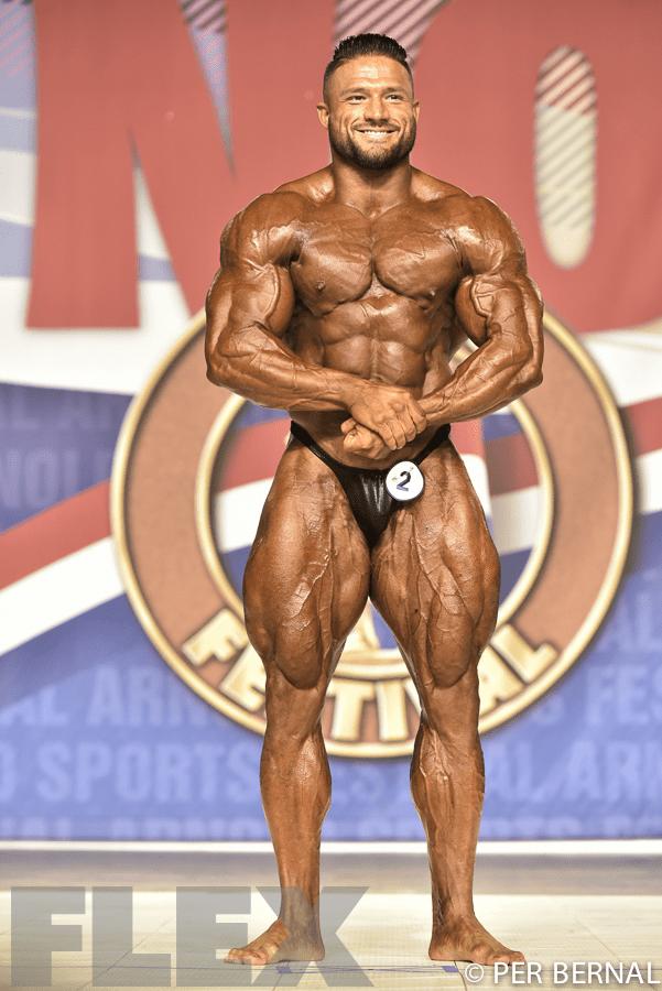 Zane Watson - 212 Bodybuilding - 2017 Arnold Classic
