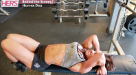 Heather Dees' ab workout