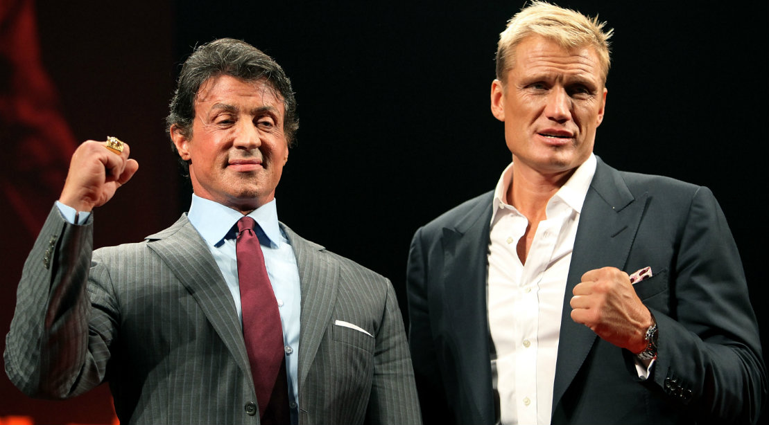 Sylvester Stallone Reflects on 'Lucky Shot' From Dolph ...