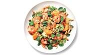 Sesame Shrimp and Nuts Salad