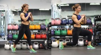 Woman Doing A Reverse Lunge