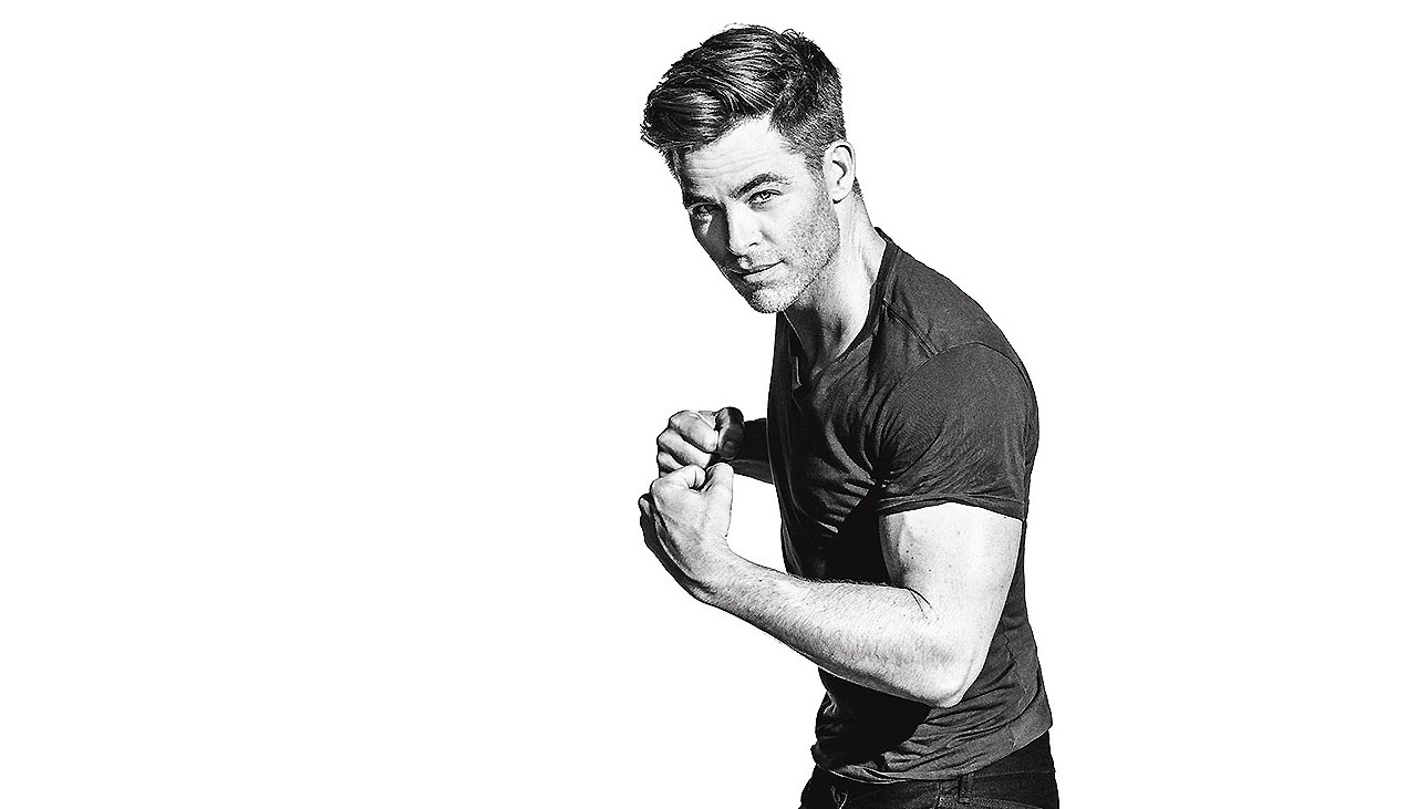 Chris Pine's Exact 'Star Trek Beyondn' Workout Routine