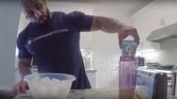Fouad Abiad's Pre-Workout Meal Prep