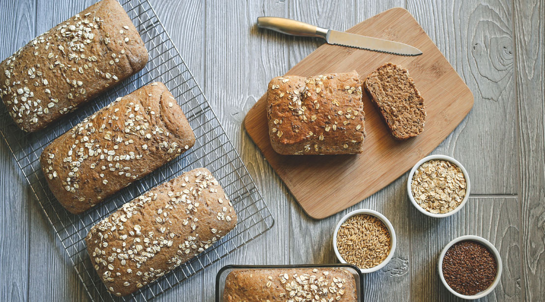 Whole wheat, whole grain bread