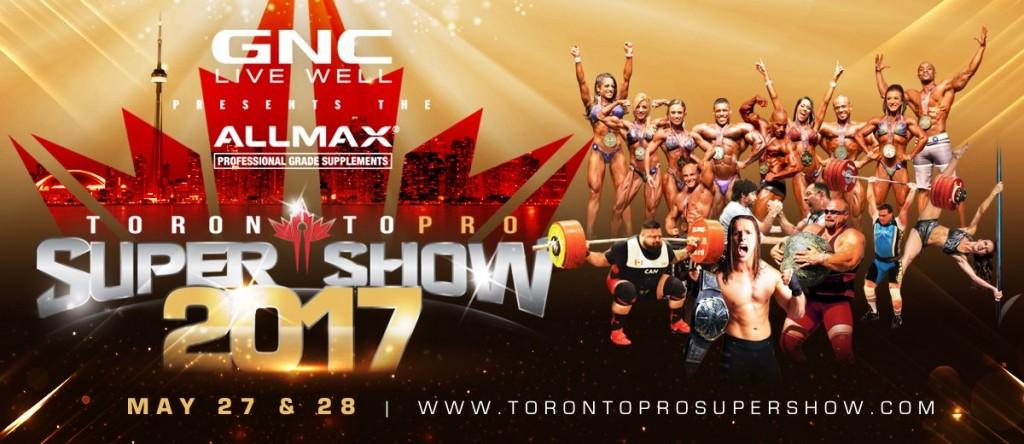 2017 IFBB Toronto Pro Official Scorecards