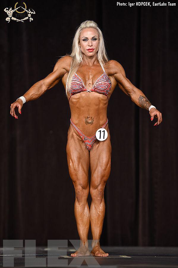 Veronika Javorska - Women's Physique - 2017 Ostrava Pro