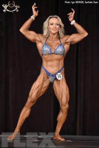 Margita Zamolova - Women's Physique - 2017 Ostrava Pro