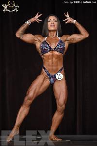 Doina Gorun - Women's Physique - 2017 Ostrava Pro