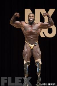 Edgard John Augustin - Open Bodybuilding - 2017 NY Pro