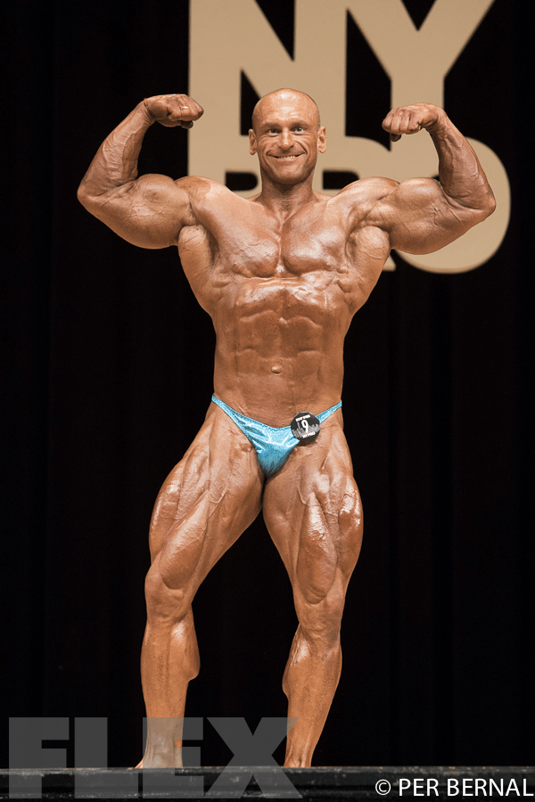 Marek Olejniczak - Open Bodybuilding - 2017 NY Pro