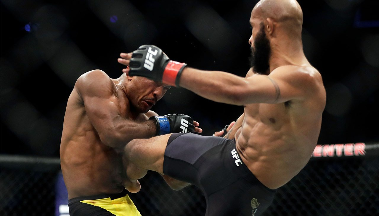 The UFC Workout To Get Built Like A Fighter