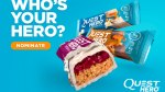 M&F: Honor Your Hero, Win a Year's Supply of Quest Hero Bars