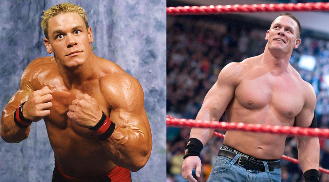 John Cena Through the Years: From 2001 to 2017