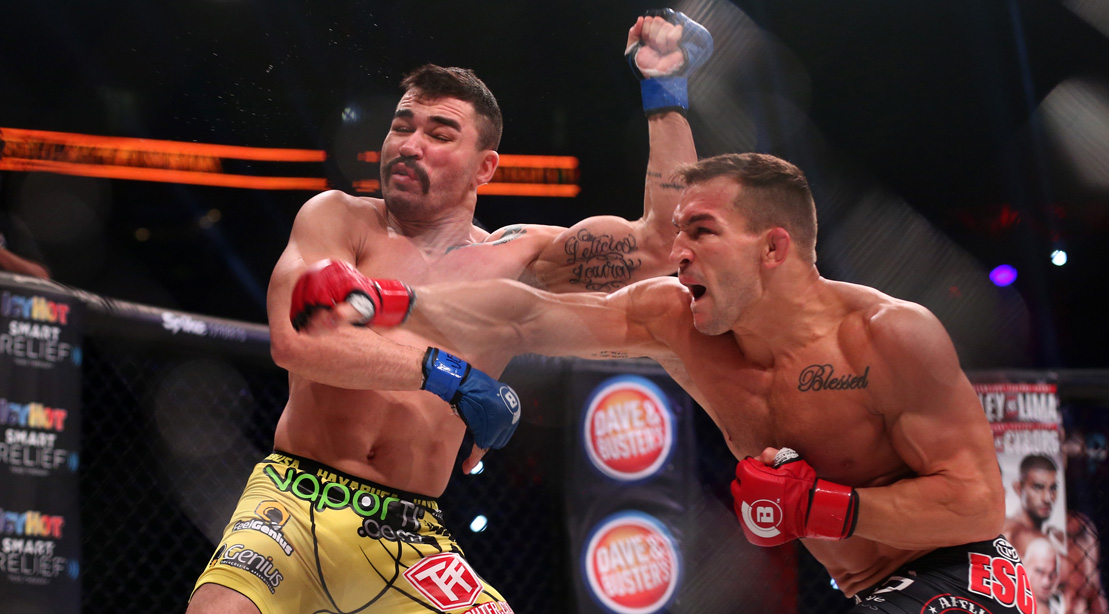 Michael Chandler Boxing In The Ring