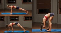 Plank and Forward Bend