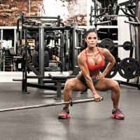Michelle Lewin Sumo Squat