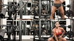 Michelle Lewin Sumo Squat To One Arm Press