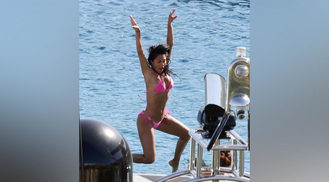 Scherzinger körper Nicole bikini Nicole Scherzinger